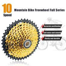 цена на Bike Freewheel 10 Speed 11-42T Bicycle Cassette Freewheel MTB Bike Flywheel For Cycling Bike Bicycle