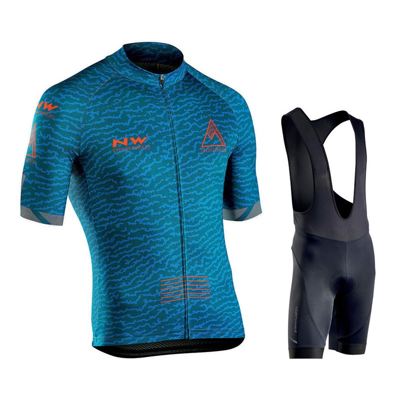 <font><b>NORTHWAVE</b></font> Wave Short Sleeve Jersey <font><b>2019</b></font> Pro Team <font><b>Nw</b></font> Cycling Clothing Ropa Ciclismo Hombre Summer Mountain Bike Uniform mavicing image