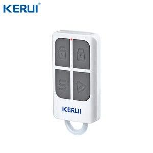 Image 4 - KERUI W2 Wifi GSM PSTN الهاتف الثابت الرئيسية إنذار التطبيق ISO 433MHz TFT شاشة تتفاعل نزع سلاح مكرر إشارة صفارات الإنذار الشمسية