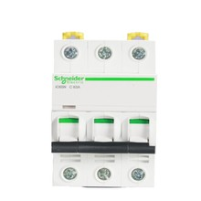 C typ micro-break A9 series miniature circuit breaker IC65N 3P C1A-63A three-phase electric air switch