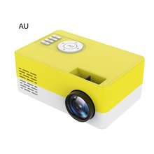 LED Mini projector J15  support Full HD video beamer for Home Cinema projector Media Player cp350 led projector full hd support 1080p mini projector home media player portable multimedia home cinema theater video movie