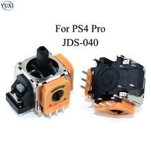YuXi palanca de mando analógica 3D, 2 uds., piezas de reparación, módulo de Sensor, potenciómetro para Sony Dualshock 4 PS4 Pro, mando
