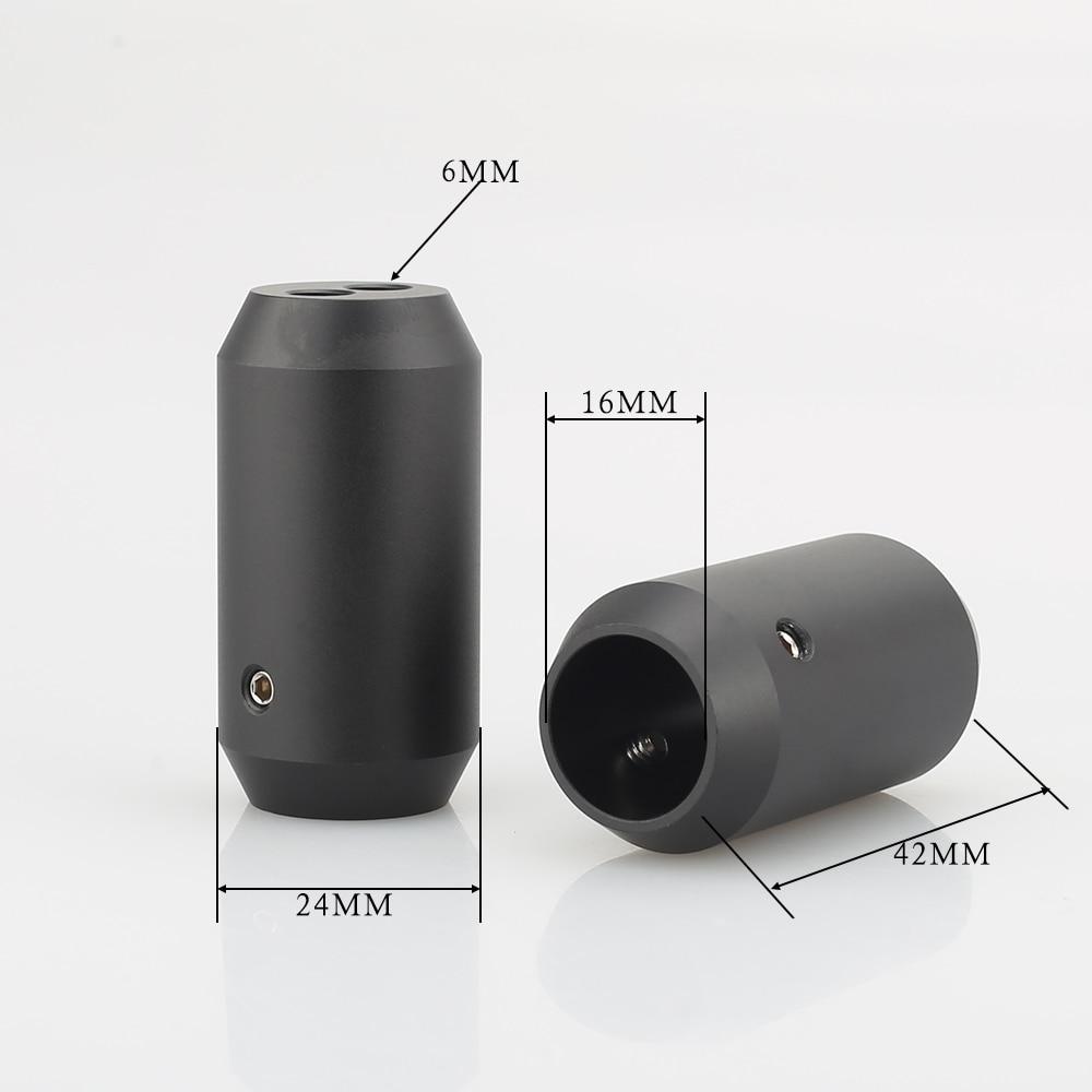 4pcs Hifi audio Pants Boot Y Splitter 1 to 2 Speaker RCA Cable Audio DIY Wire