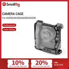 كاميرا صغيرة DSLR هيكل قفصي الشكل للكاميرا سوني A6000/A6300/A6500 مع كاميرا Meike MK A6300/A6500 مع قبضة بطارية عدة قفص 2268