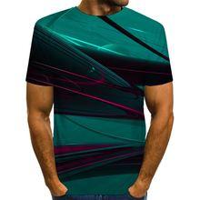 Футболка мужская с графическим принтом Повседневная рубашка