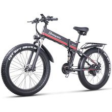 Electric Bicycle Folding Ebike Snow-Bike Shengmilo Super-Level 1000W New 48V 48v12ah