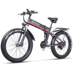 Shengmilo Electric Bike 1000W New Super Level Snow Bike Electric Bike Folding Ebike 48V12Ah Electric Bicycle 4.0 Fat Tire e bike
