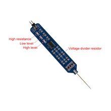 5V 3 3V Logic pióro testowe Tester poziomu cyfrowy obwód Debugger Logic Pulser Analyzer wykrywanie sondy narzędzie obwodu tanie tanio OOTDTY CN (pochodzenie) ELECTRICAL NONE Analogowe tylko 15x10x0 1cm NORMAL C63E9FF100314