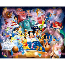 NEW Arrival DIY Diamond Painting,Needlework Cartoon Characters 5D full Diamond Embroidery Cross Stitch Rhinestone Home paint(China)