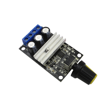 3A 80W PWM DC Motor Speed Controller Regulator Adjustable Variable Speed Control With Potentiometer Switch dc12 60v 10a rotary adjustable potentiometer knob pwm motor speed controller page 2