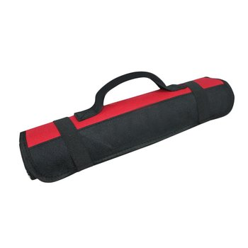 22 Pockets Hardware Tool Spanner Carry Case Roll Pliers Screwdriver Pouch Bag Rolled Up Portable Hardware Holder Oxford Cloth portable chef knife bag roll bag carry case bag kitchen cooking tool portable storage 10 pockets coffee