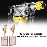 8PCS Motor Carbon Brushes Electric Pull Electric Drill Brush For MAKITA CB 440 BHP458 18V BDF452 BHP454 13x10x3mm