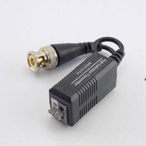 Image 4 - 10pair UTP Video Balun Twisted CCTV Balun Passive Transceivers for HD CVI/TVI/AHD Camera Male BNC to UTP camera Accessories G16