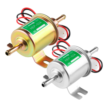 Low pressure fuel pump hep-02a, электробензонасос low pressure, 12 V gasoline pump rastp 12v electric fuel gas oil pump 3 6 psi pressure hep 02a universal for car truck boat rs fp009