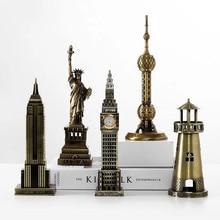 Eiffeltoren Beroemde Gebouw Creatieve Decor Art Ambachten Beeldje Abstracte Sculptuur Home Office Desktop Decoratie Ornament Gift