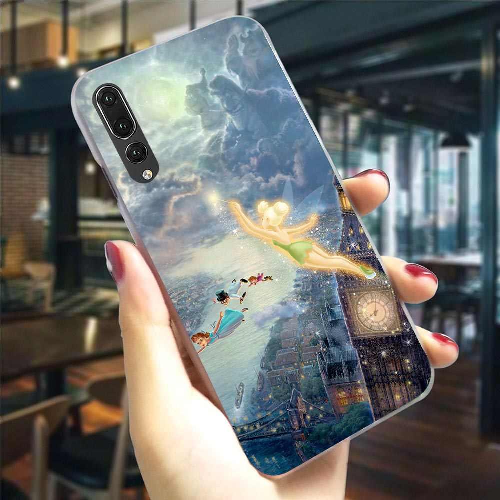 Cassa del telefono Per Huawei P20 Del Peter Pan Wendy Tinkerbell Copertura P9 Lite Mini/2017 P10 20 30 Lite Pro P di Smart Z Compagno 10 20 Lite Pro