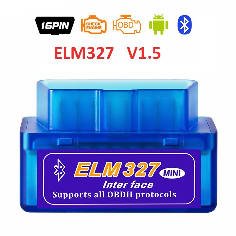 2019 New Elm327 Automotive Scanner Bluetooth OBD2 Elm 327 Scanner  Android Diagnostic Tool Car Diagnostic  Accessories