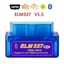 2019 New elm327 automotive scanner bluetooth OBD2 elm 327 Scanner  Android diagnostic Tool car diagnostic  Accessories стоимость