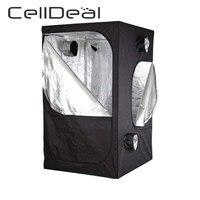 CellDeal kutu büyümek kutu büyümek kabine kutu büyümek kültür sera çadır 80X80X160 Cm büyümek çadır Oxford kumaş polyester sebze
