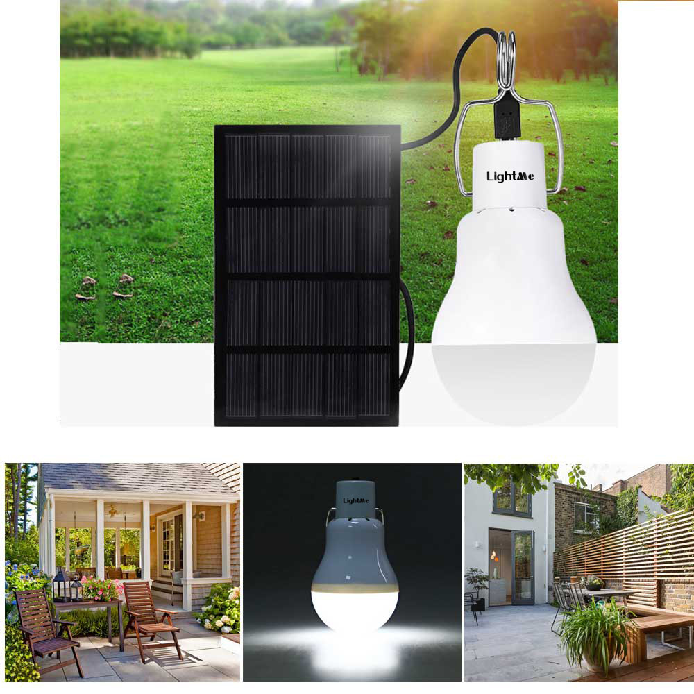 22LED Solar Light Torch Outdoor Camping Yard Remote Control Hanging Beleuchtung