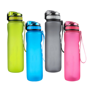 Sport Water Bottles 1000ML Free For Cycling Running Fitness Trail Marathon Shaker Outdoor Travel Portable Leakproof Direct Drink|Sports Bottles| |  -