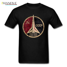 CCCP Men T Shirts Cheer Beer For Health Mens T-shirts Russian President Putin Tshirt 2019 USSR Red Star Tees CCCP Logo Tops 3XL цены онлайн
