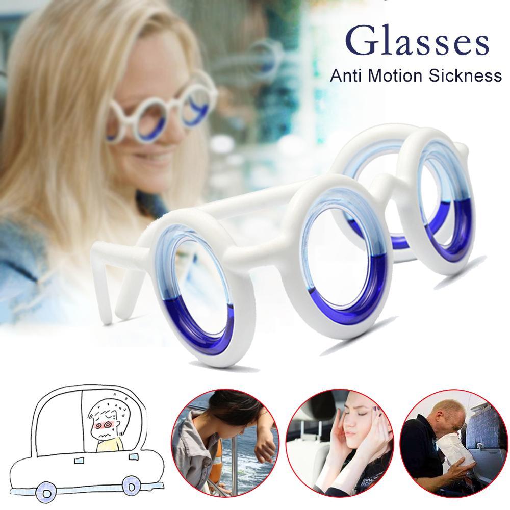 Anti Motion Sickness Glasses PP Frame Lightweight No Lenses Eyeglasses