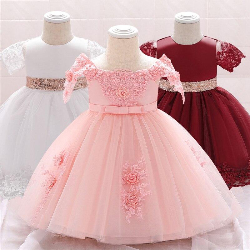 Vestiti Da Cerimonia Per Ragazze.Ragazze Di Fiore Vestito Da Cerimonia Nuziale Del Bambino Delle