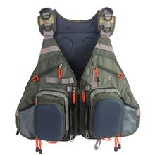 Fly Fishing Vest Pack Adjustable Vest Backpack for Men and Women Mesh Anglers Jacket for Bass Fishing and Outdoor Activities цена 2017