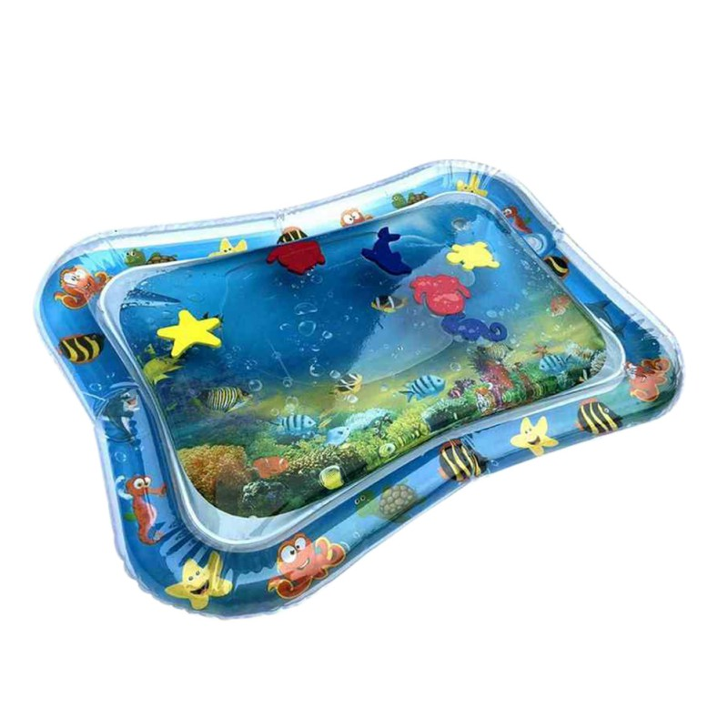 2020 Baby Toys Infant Cartoon Pattern Water Play Mat Fun Activity Play Center PVC Water Filled Playmat