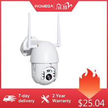 INQMEGA 4X Zoom cyfrowy H.265X 1080p kamera PTZ IP zewnętrzna kamera kopułkowa kamery bezpieczeństwa CCTV WIFI zewnętrzna IR nadzór domowy