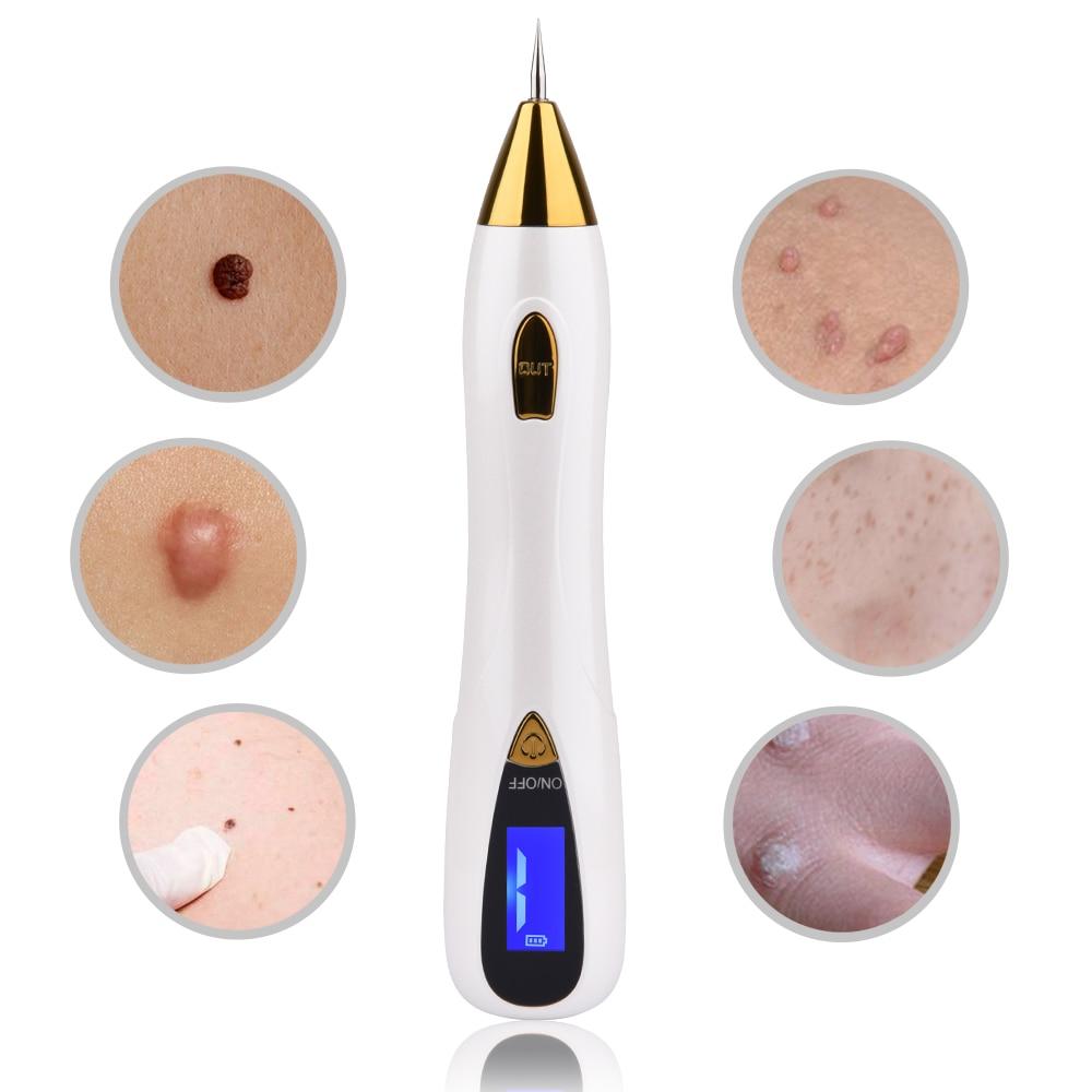 mezoterapia Do pielęgnacji skóry kretów laserowych tatuaż usuwanie pieluchy długopis LCD Sweep Spot Mole usuwania brodawek odciski usuwa ciemne plamy Salon piękna maszyna