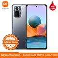 Globale Version Xiaomi Redmi Hinweis 10 Pro 64GB/128GB Smartphone 120Hz AMOLED Display 108MP Kamera Snapdragon 732G 5020mAh 33W NFC