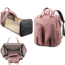 Diaper Bag Backpack Multifunction Travel Folding car Backpack Maternity Baby Changing Bags Large Capacity Waterproof and Stylish
