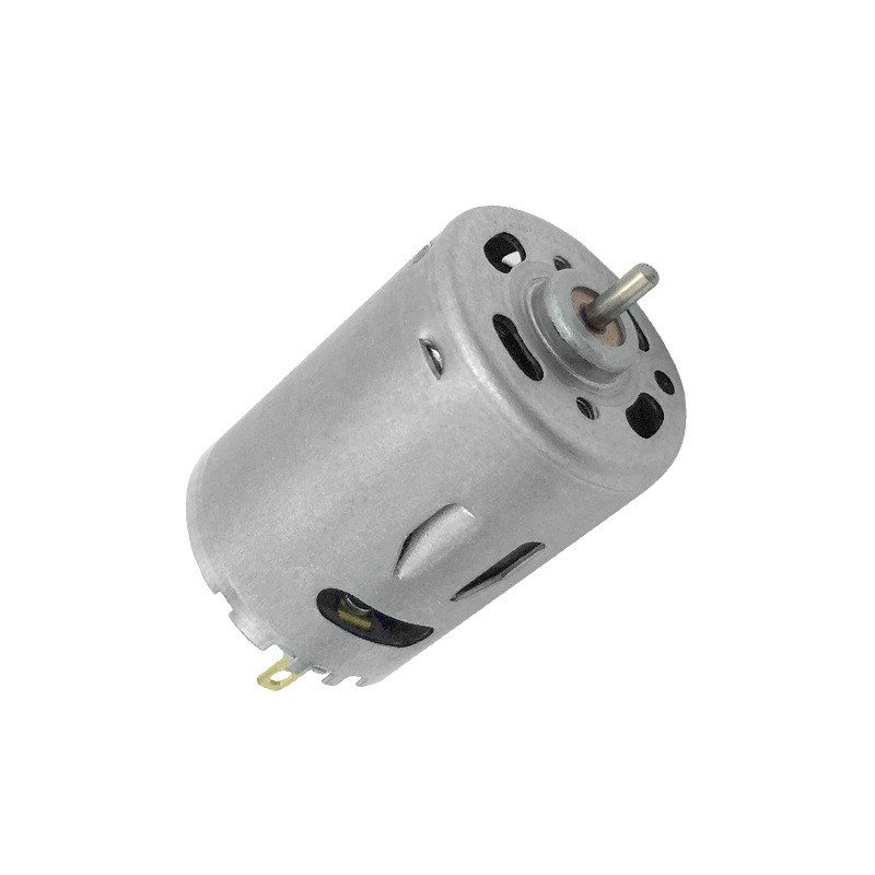 Iron cover 385 DC magnetic high speed motor 12-24V motor special motor electric hair dryer hot air gun