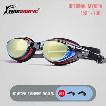 -150 To -700 Degree Myopia Swim Goggles Men Women HD Clear Lens  Anti-fog Swimming Glasses Anti-Uv Swim Eyewear