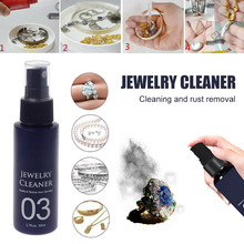 Hot Quick Gem Jewelry Cleaner Anti-Tarnish Cleaning Diamond Silver Gold J99