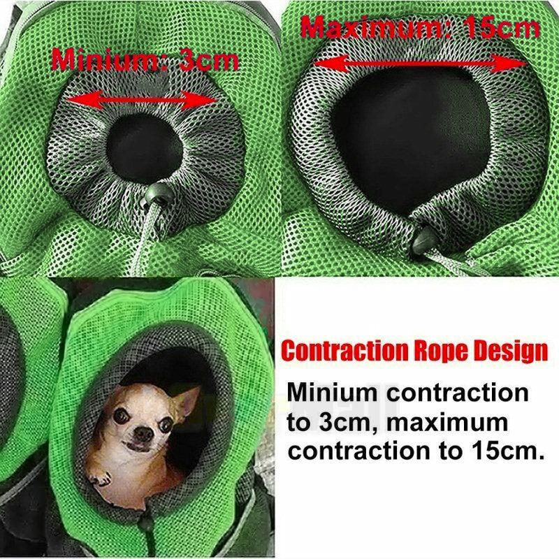 Rug - 2020 New Pet Carrier Dog Bag Backpack Bleathable Mesh Puppy Shoulder Bag Cat Chest bag