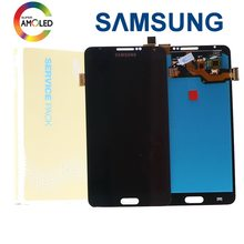 Super AMOLED LCD Para Samsung Galaxy Nota 3 Note3 Neo Mini Lite N7505 Mobile Phone Screen Display LCD de Toque Digitador substituição(China)