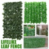 New Fencing Gates Artificial Garden Plant Fence UV Protected Privacy Screen Outdoor Use Fence Backyard Home Decor Greenery Walls flash sale