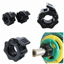 2pc Dumbbells Weightlifting Barbell Clamps Collars Lock 25mm Fitness Musculation Standard Dambil Gym Jaw Buckles