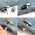 Комплект из 2 предметов, съемная в ретро-стиле с металлическими пуговицами, застежка-молния хип штаны булавки для джинсов оригинального диз...