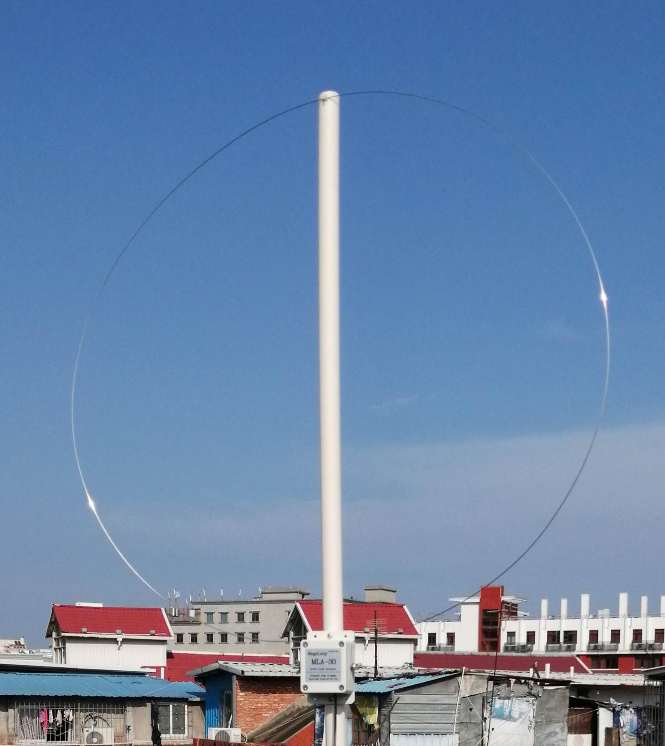 Latest Version MLA-30 Loop Antenna Active Receiving Antenna 100kHz - 30MHz For Shortwave Radio