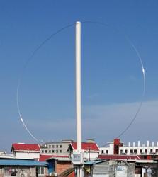 Neueste version MLA-30 Schleife antenne Aktive empfangsantenne 100 kHz-30 MHz Für Kurzwellen radio