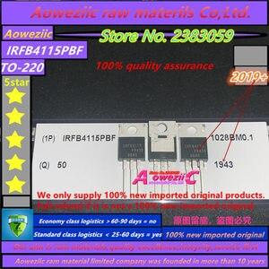Image 3 - Aoweziic 2019 + 100% חדש מיובא מקורי IRFB4115PBF IRFB4115 כדי 220 FET 150V 104A