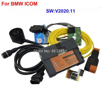 ICOM NEXT For BMW ICOM A2+B+C Professional  Diagnostic & Programmer Tool Newest Software V2020.11 2018 for bmw icom a2 rheingold software hdd installed on x201 touch screen laptop plug and play