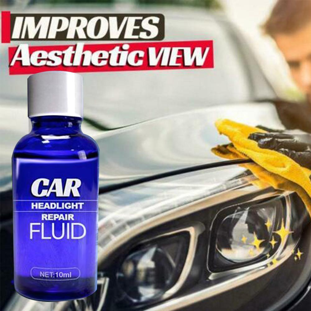 10/30ML Car Headlight Repair Coating Solution Repair Kit Oxidation Rearview Coating Headlight Polishing Anti-scratch Liquid