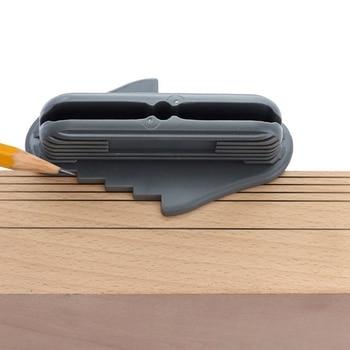 Nueva herramienta de marcado Offset para centro de carpintería de 2 uds. 53098 se adapta al centro de lápices de madera estándar de la marca Z425