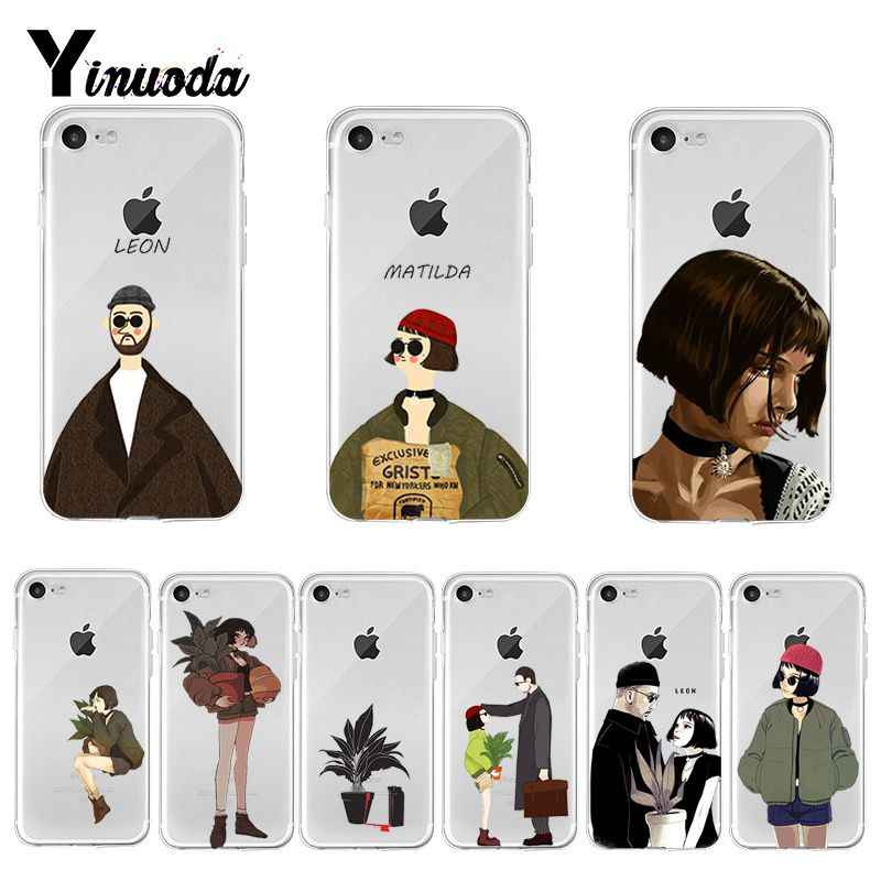 Yinuoda Cool Leon And Matilda Art Couple Amazing Landscape Phone Case For Apple Iphone 8 7 6 6s Plus X Xs Max 5 5s Se Xr Cover Aliexpress