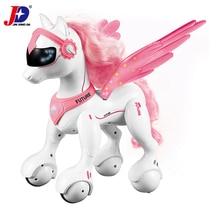 JXDA009 RC jednorożec Riley inteligentny koń Robot pilot zwierzęta unicornio wesołych świąt edukacyjne licorne zabawki dla dzieci